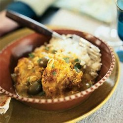 Chicken Tagine with Lemon and Olives recipe