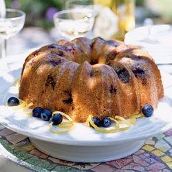Glazed Lemon-Blueberry Poppy Seed Bundt Cake recipe
