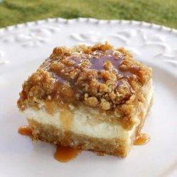 Caramel Apple Cheesecake Bars recipe