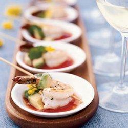 Grilled Shrimp with Sangrita recipe
