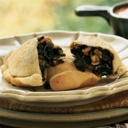 Spinach and Kale Turnovers recipe