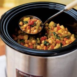 Vegetable and Chickpea Curry recipe