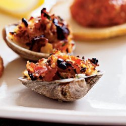 Clams Casino with Pancetta recipe