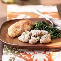 Hazelnut Gnocchi with Sage Glaze recipe