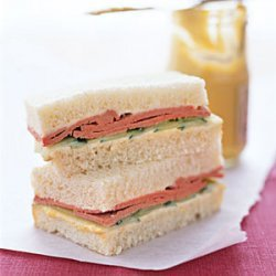 Liverwurst Tea Sandwiches recipe