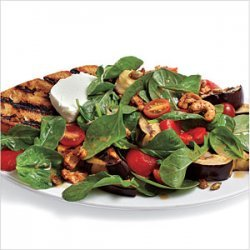 Grilled Vegetable and Goat Cheese Salad recipe