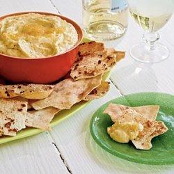 Taramasalata with Pita Chips recipe