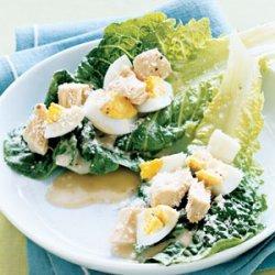 Salad Nicoise Lettuce Cups recipe