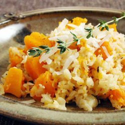 Baked Rice with Butternut Squash recipe