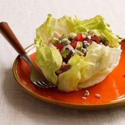 Cobb Salad Lettuce Wraps recipe