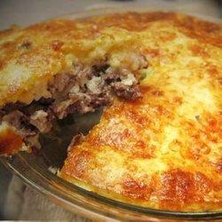 Impossoble Cheeseburger Pie recipe