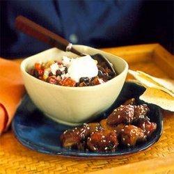 Black Bean and Chorizo Chili recipe