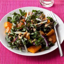 Roasted Squash and Kale Salad recipe
