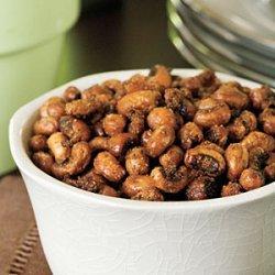 Chili-Roasted Black Eyed Peas recipe