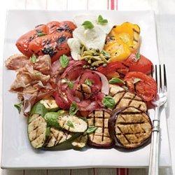 Fire-Seared Antipasto Platter recipe