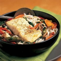 Thai Fish-and-Noodle Soup recipe