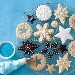 Christmas Cookies 4 Ways recipe
