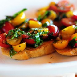 Bruschetta For Those Who Hate Tomatoes recipe