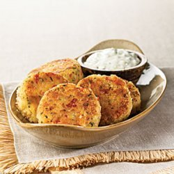 Crab Cakes with Jalapeño-Lime Tartar Sauce recipe