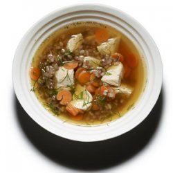Roast Chicken and Rice Soup recipe