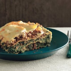 Lasagne Bolognese with Spinach recipe