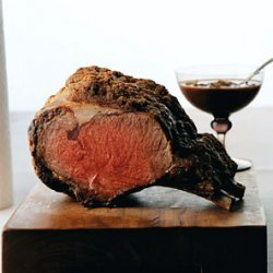 Sunday Rib Roast recipe