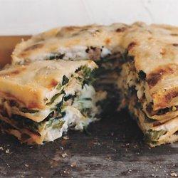 Sausage and Broccoli Rabe Torta recipe