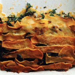 Butternut Squash and Creamed-Spinach Gratin recipe