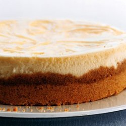 Lemon Curd Marbled Cheesecake recipe