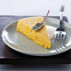 Butternut Squash Flan with Parmesan Sage Sauce recipe