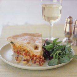 Tomato and Corn Pie recipe