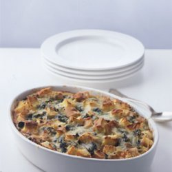 Spinach and Cheese Strata recipe