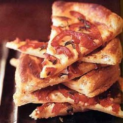 Red Pepper and Boursin Tarts recipe
