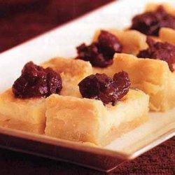 Stilton Tart with Cranberry Chutney recipe