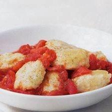 Ricotta Gnocchi with Roasted Tomato recipe