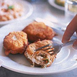 Zucchini, Cheese and Herb Fritters recipe