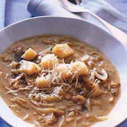 Three Onion Soup recipe