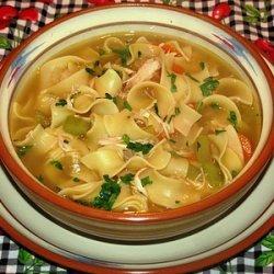 Classic Chicken Noodle Soup recipe