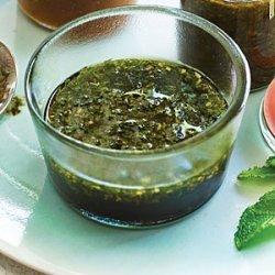 Pomegranate Molasses and Mint Marinade recipe