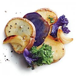 Baby Potatoes with Kale and Garlic recipe