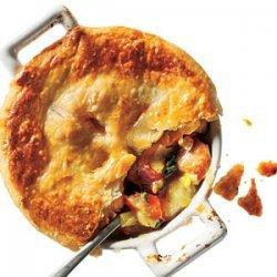 Chicken, Potato, and Leek Pie recipe