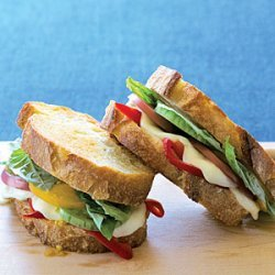 Grilled Caprese Sandwiches recipe