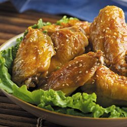 Honey Sesame Wings recipe