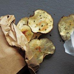 Sour Cream and Onion Potato Chips recipe