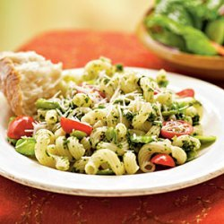 Fava Beans with Pesto and Cavatappi recipe