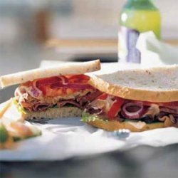 Deluxe Roast Beef Sandwich recipe