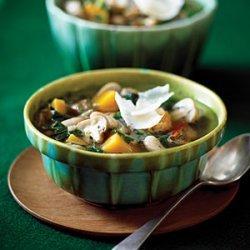 Wild Rice, Butternut Squash, and Cannellini Stew recipe