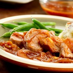 Pork Tenderloin with Olives and Sweet-Tart Onions recipe