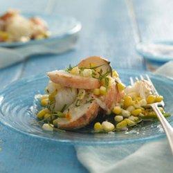 Lobster and Corn Salad With Tarragon Vinaigrette recipe