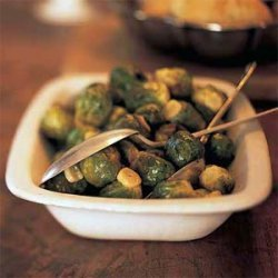 Brussels Sprouts with Browned Garlic recipe